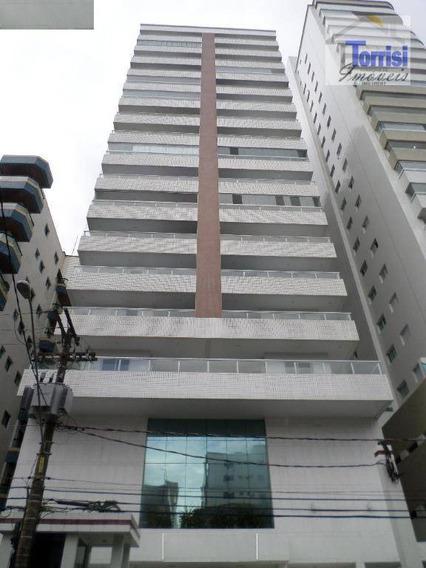 Apartamento Em Praia Grande, 03 Dormitórios Sendo 01 Suíte, Guilhermina, Ap2418 - Ap2418
