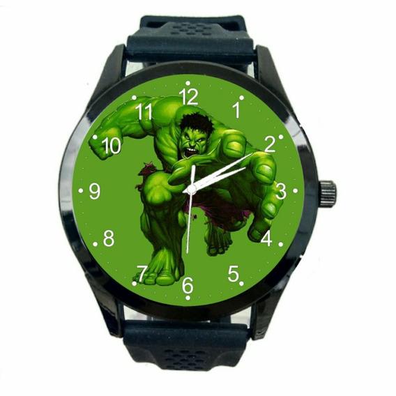 Relogio Personalizado Incrivel Hulk Feminino Pulso Novo T31