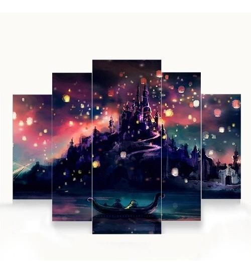 Quadros Decorativos Harry Potter 5 Peças