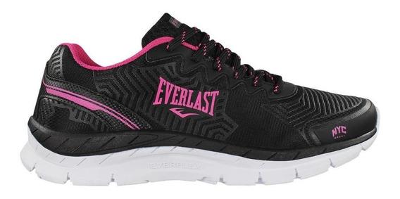 Tênis Everlast Vision Feminino Academia Caminhada Run 3 Cors