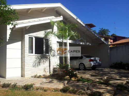 Imagem 1 de 16 de Casa Com 3 Dormitórios À Venda, 370 M² Por R$ 1.150.000,00 - Caminhos De San Conrado - Campinas/sp - Ca0708