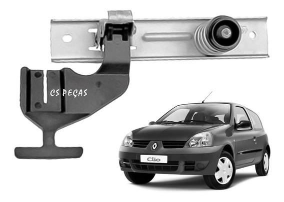 Fechadura Trava Superior Capô Clio Hatch Sedan 2003 Até 2016