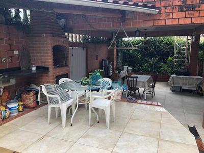 Casa Com 1 Dormitório,sendo 1 Reversível, Piscina E Churrasqueira, À Venda, 109 M² Por R$ 260.000 - Cidade Naútica - São Vicente/sp - Ca0299