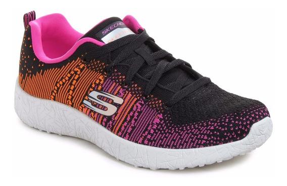 Zapatillas Skechers Burst Ellipse Running Importadas Mujer