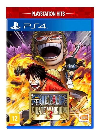One Piece Pirate Warriors 3 De Ps4 Mídia Digital Promoção