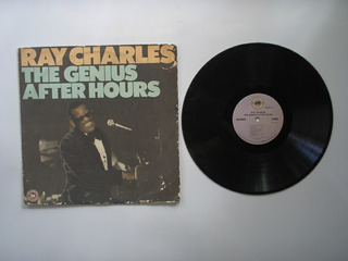 Lp Vinilo Ray Charles The Genius After Hours Print Usa 1985