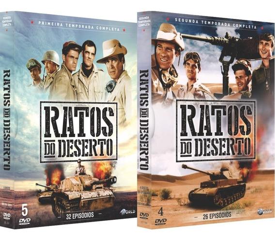Dvd Ratos Do Deserto - Serie Completa 9 Discos, 58 Episodios