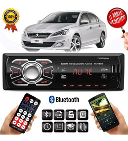 Mp3 Player 6630bcn Peugeot 408 308 208 1 Din Usb Rádio Fm