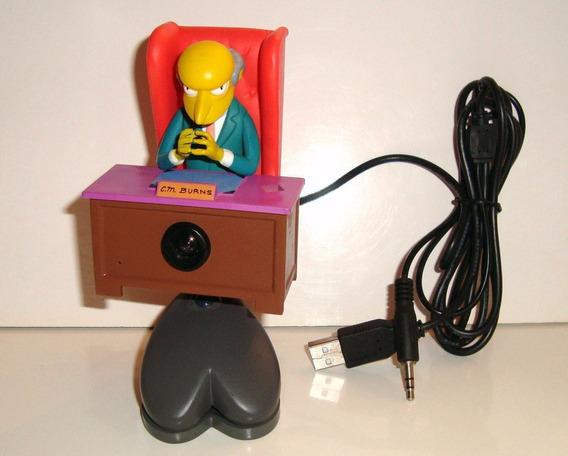 Camera Usb Pour Pc Les Simpsons Mr.burns
