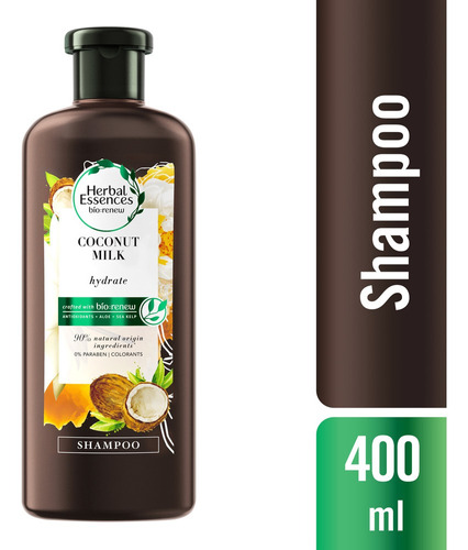 Shampoo Herbal Essences Bio:renew Coconut Milk, 400ml