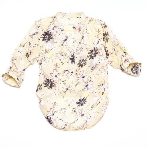 Camisa Feminina, Blusa Femenina, Bata, Chiffon Transparência