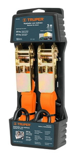 Sujetador Con Matraca/criquet 675 Kg P/ Porta Equipaje Autos