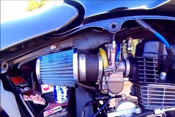 Carburador Koso 30mm Guilhotina Com Power Jet 2t 4t