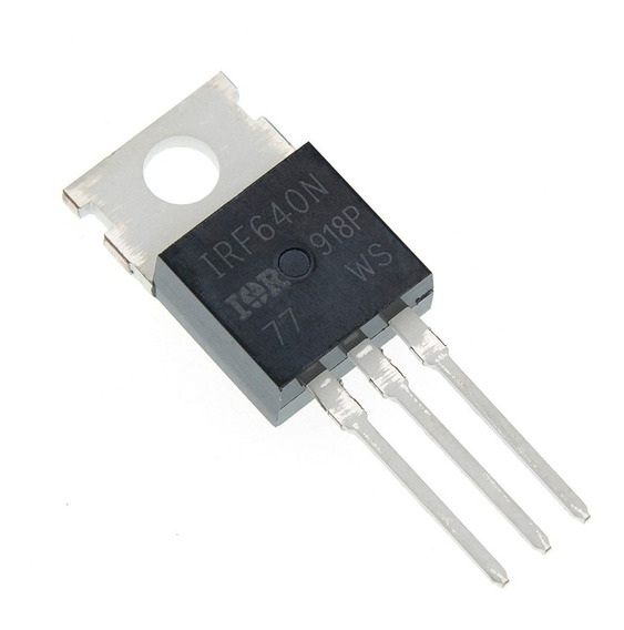 4 Unidades Transistor Irf 640 Power Mosfet 18a 200v To-220