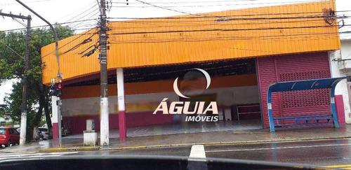 Salão À Venda, 644 M² Por R$ 4.800.000,00 - Parque Jaçatuba - Santo André/sp - Sl0121