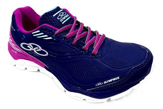 Tênis Feminino Olympikus Agile Caminhada Corrida Fitness