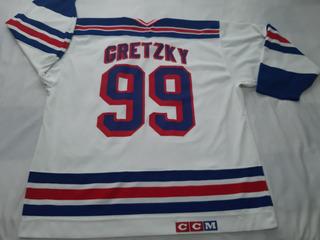 Jersey Nhl Hockey Gretzky Ccm Rangers