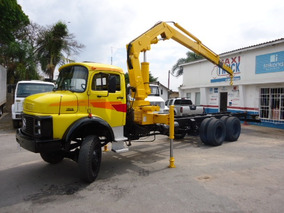 Mb 1513, Truck, Munck Hidrauguincho Mod. 14.000