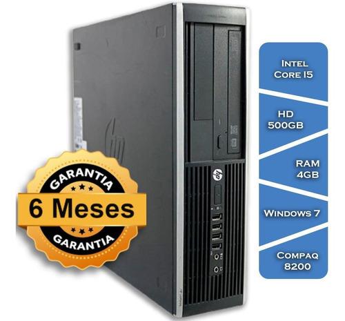 Imagem 1 de 5 de Pc Hp Compaq 8200 Core I5 2400gº Hd500 4gb Ram Win7 Small