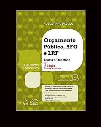 Livro Orçamento Público Administração Financ E Orçamentária