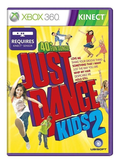 Just Dance Kids 2 Xbox 360 Mídia Física Pronta Entrega
