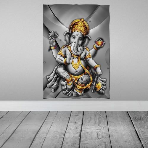 Imagem 1 de 3 de Stompy Bandeira Decorativa Decoração Ganesha Trance Rave