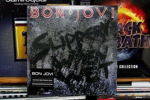 Bon Jovi Slippery When Wet Vinilo Envio Gratis