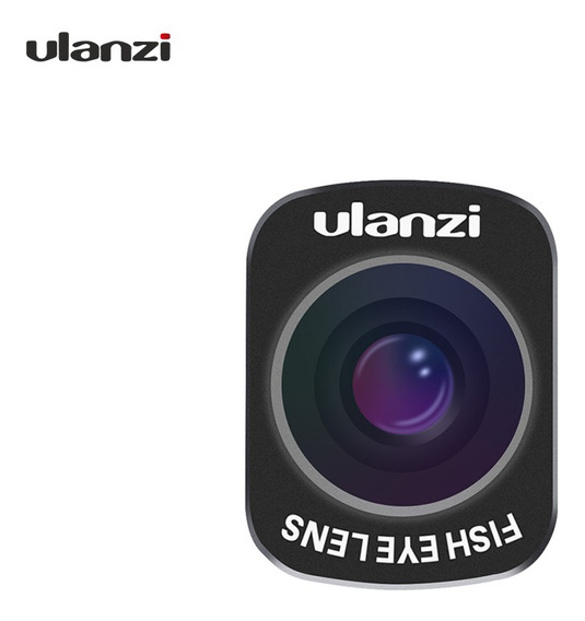 Ulanzi Op-8 Mini Olho De Peixe Lente Design Magnético Para