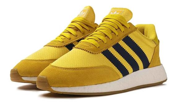 Tênis adidas Iniki I-5923 Yellow Welcomes Wu-tang