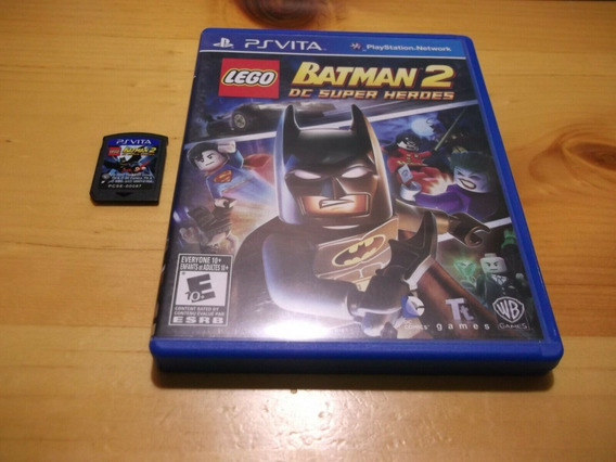 Lego Batman 2 Dc Super Heroes - Ps Vita