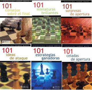 101 Jugadas Ajedrez. Colección.