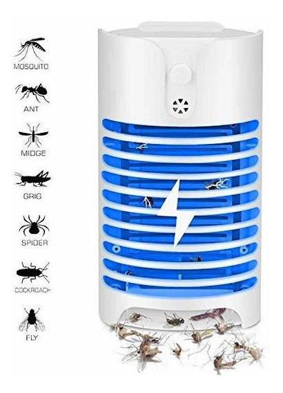 Repelente Mata Insecto Mosquito Eléctrico Lámpara Glückluz