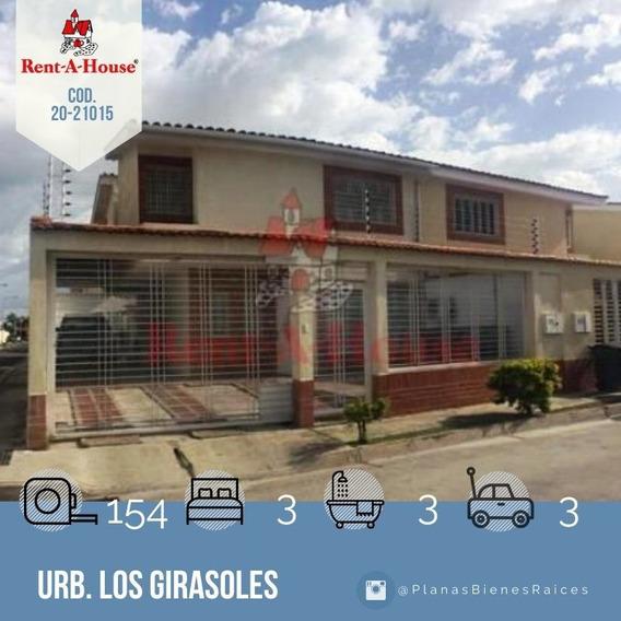 Townhouse En Venta En Maracay, Los Girasoles 20-21015 Scp