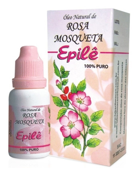 Oléo Epile Rosa Mosqueta Rugol Kit C/ 6un 10ml Envio Já