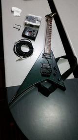 Guitarra Electrica Marca Jackson Con Pedal Y Cable