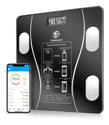 Imagen 1 de 7 de Báscula Electrónica Bluetooth Inteligente De Baño