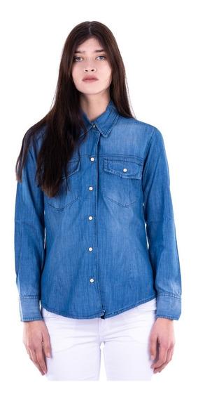 Camisa De Jean - Mujer - Blue Air Jeans