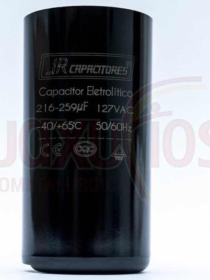 Capacitor Eletrolítico 216/259 Uf 127v Jr - 5 Peças
