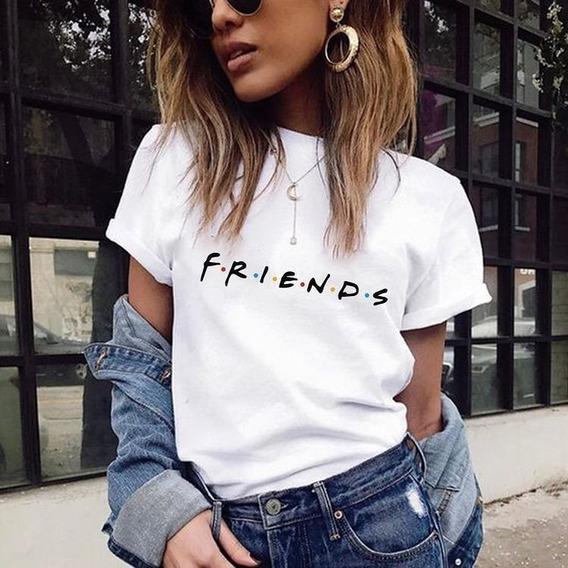 Camiseta Feminina Friends Tumblr T-shirts