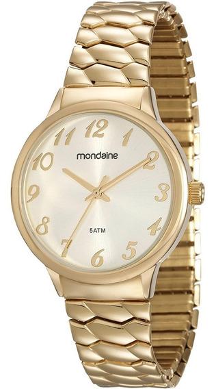 Relógio Feminino Mondaine Dourado 83313lpmgde2