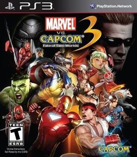 Marvel Vs. Capcom 3: Destino De Dos Mundos - Playstation 3
