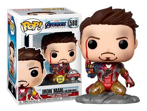 Funko Pop Original Tony Stark Iron Man Avengers