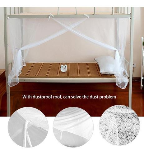 dormitorios dormitorios etc. privacidad Mosquitera para Cama Individual a Prueba de Polvo para Cama o Cama de Estudiantes