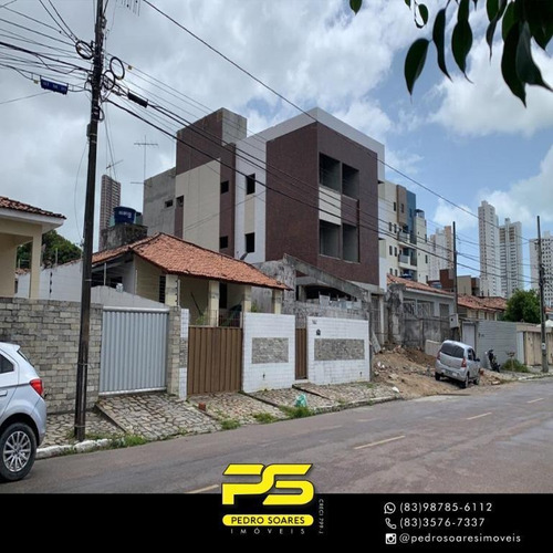 Apartamento Com 2 Dormitórios À Venda, 52 M² Por R$ 180.000 - Altiplano Cabo Branco - João Pessoa/pb - Ap3468