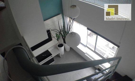 Apartamento Duplex Com 1 Dormitório À Venda, 38 M² Por R$ 430.000,00 - Vila Leopoldina - São Paulo/sp - Ad0013