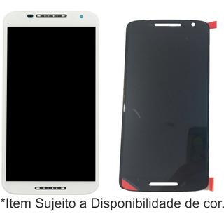 Modulo Motorola Moto X Play Con Marco + Glass Caba Premiun