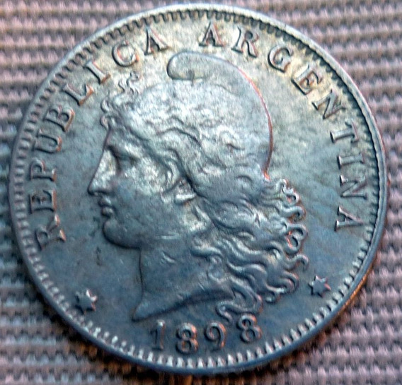 Argentina Moneda 20 Centavos 1898 ¡¡¡excelente !!!