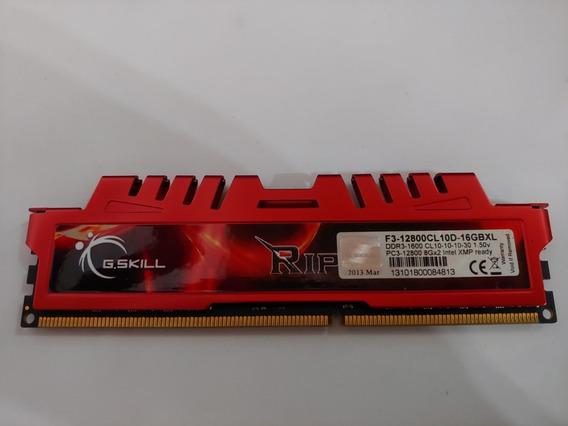 Memoria Gskill Ripjaws X 8gb Ddr3 1600mhz Pc3-12800