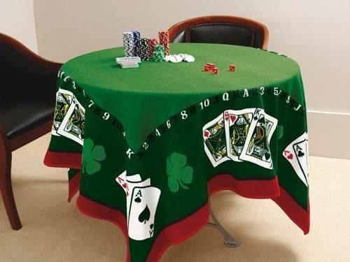Toalha De Mesa Para Jogo Jocker Baralho Poker Truco - Lepper