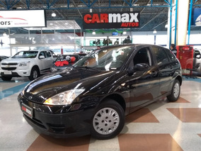 Ford Focus Hatch Gl 1.6 2007 Preto Completo